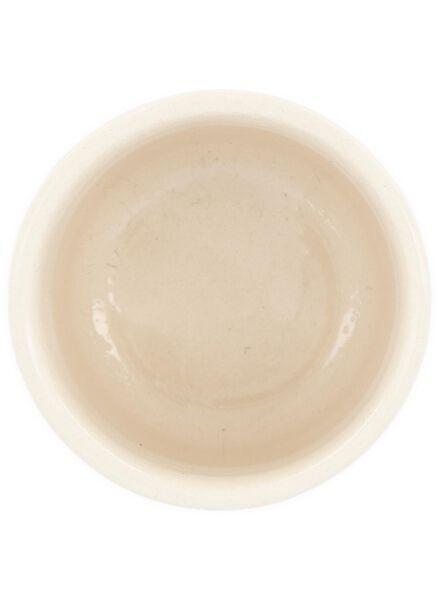 flower pot Ø 7 cm - ceramic - black/white - 13392064 - hema