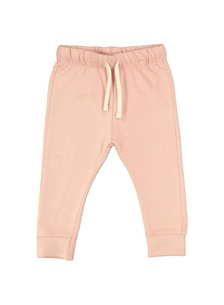 pantalon sweat bébé rose rose - 1000014711 - HEMA