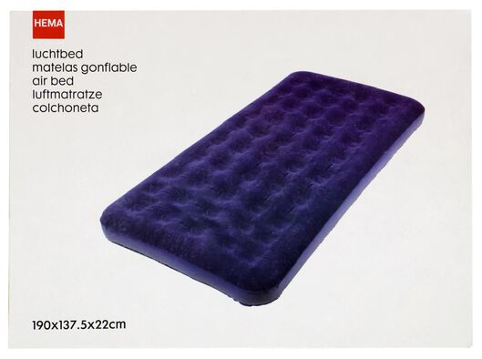 double air mattress 190x137.5x22 - 41820392 - hema