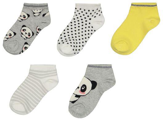 HEMA 5 Paires De Chaussettes Enfant Panda Multi (multi)