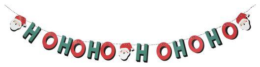 Papiergirlande, 2.5 m, Ho-ho-ho - 25104290 - HEMA