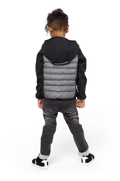 children's jacket black black - 1000020212 - hema