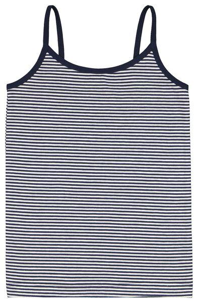 2er-Pack Kinder-Hemden, Punkte/Streifen dunkelblau 146/152 - 19370507 - HEMA