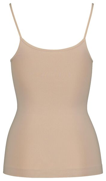 women's vest light control beige beige - 1000019534 - hema
