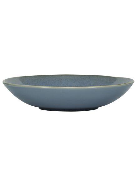 Suppenteller Porto, 21 cm, reaktive Glasur, blau - 9602023 - HEMA