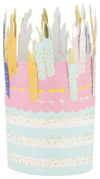 6 party hats Ø 8 cm birthday - 14230181 - hema