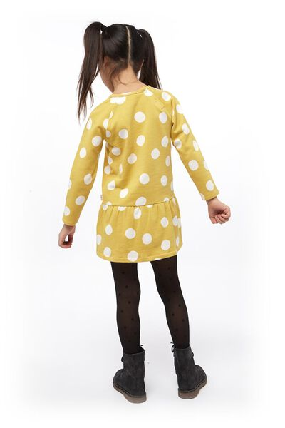 robe enfant jaune jaune - 1000017882 - HEMA