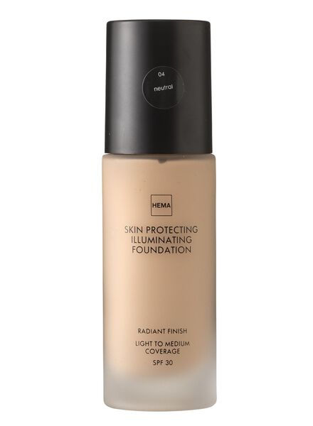 skin protecting illuminating foundation Neutral 04 - 11291904 - hema