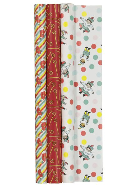 3 rolls of gift wrapping paper - 25900067 - hema