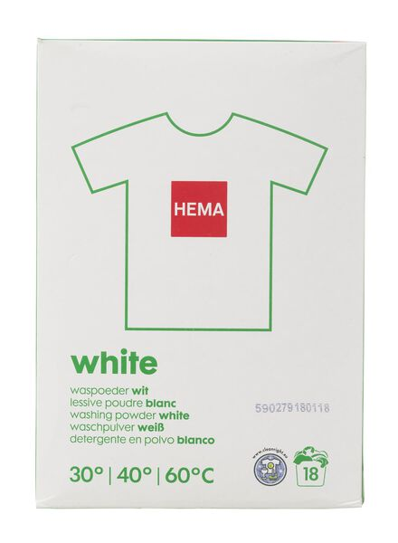 washing powder white 1.2 kg - 20500023 - hema