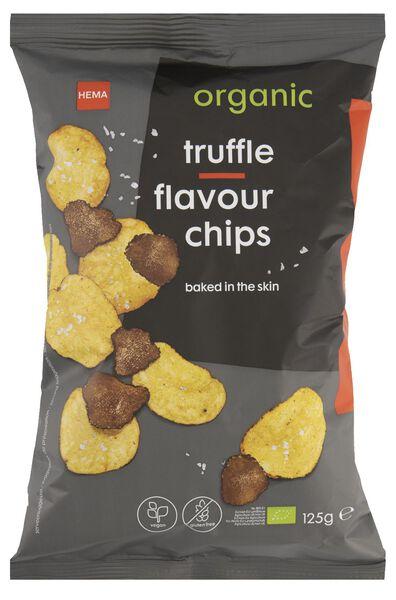 chips truffel biologisch 125gram - 10675017 - hema