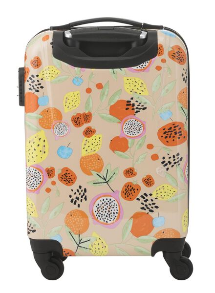 valise - 55 x 35 x 20 - fruits tropicaux - 18670004 - HEMA