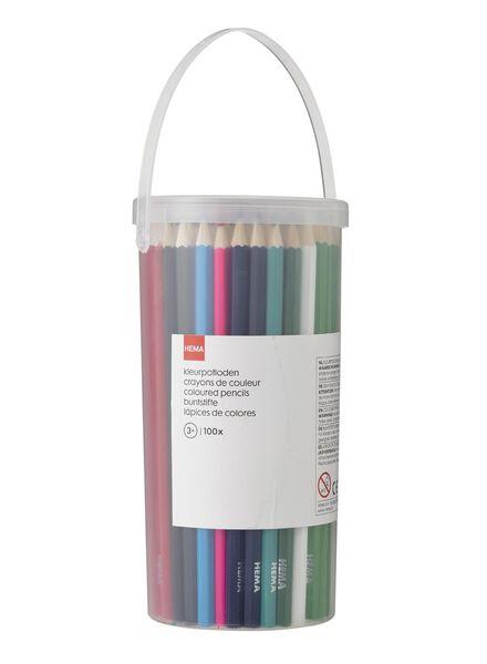 100er-Pack Buntstifte - 15919088 - HEMA
