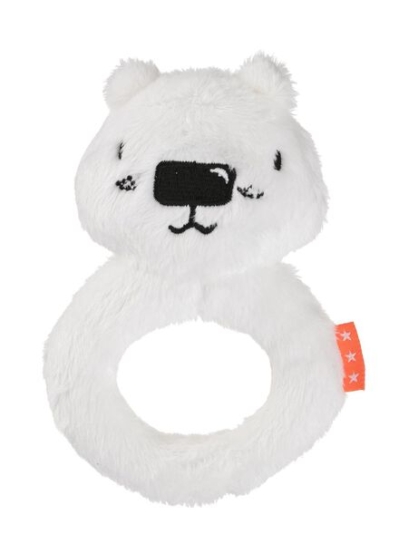 Image of HEMA Baby Rattle (off-white)