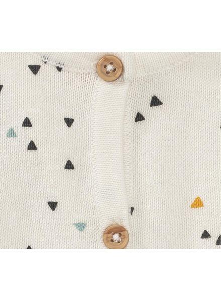 Newborn-Cardigan eierschalenfarben - 1000010395 - HEMA