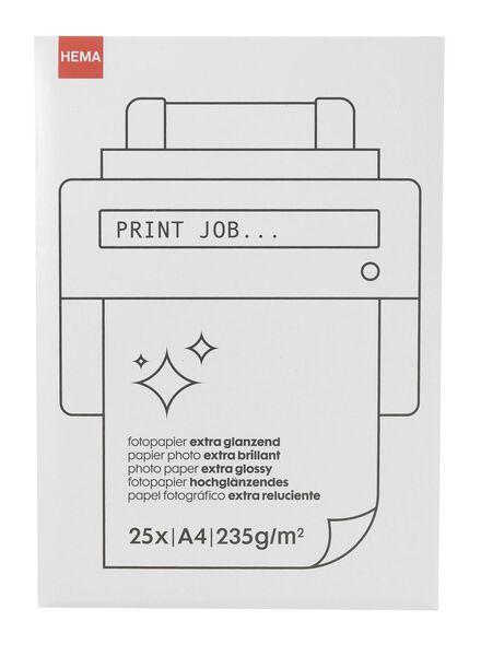 papier photo brillant - 38340084 - HEMA
