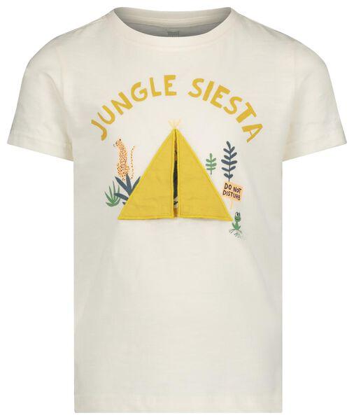 children's T-shirt off-white off-white - 1000019117 - hema
