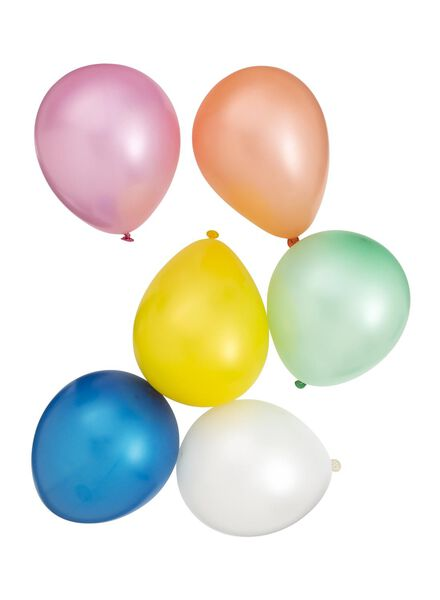 Image of HEMA 10-pack Balloons (multicolour)
