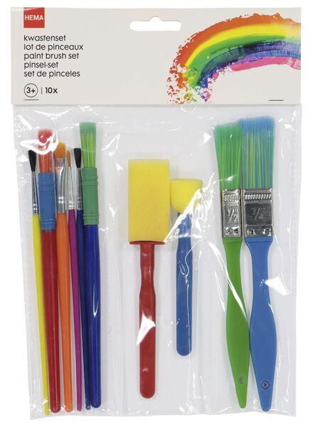 10er-Pack Pinsel - 15990332 - HEMA