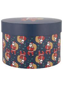Geschenkschachtel Weihnachtsmann, 22 x 22 x 15 cm - 25700072 - HEMA