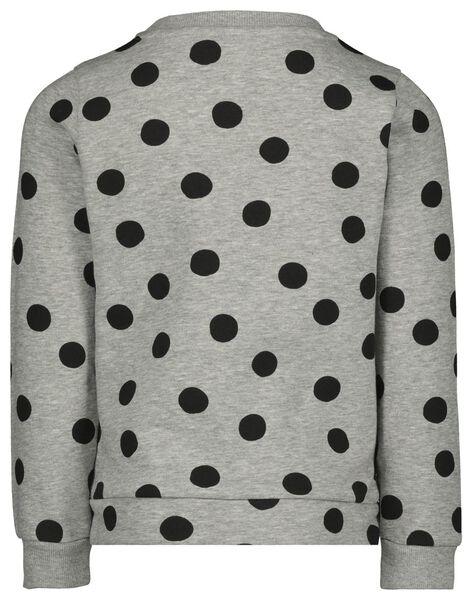 Kinder-Sweatshirt, Shine graumeliert graumeliert - 1000021601 - HEMA