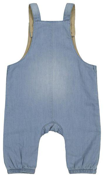 Newborn-Latzhose jeansfarben jeansfarben - 1000022080 - HEMA