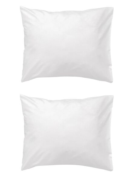 Image of HEMA 2-pack Pillowcases 60 X 70 Cm (white)