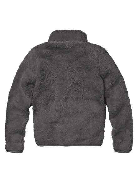 children's cardigan dark grey dark grey - 1000006318 - hema