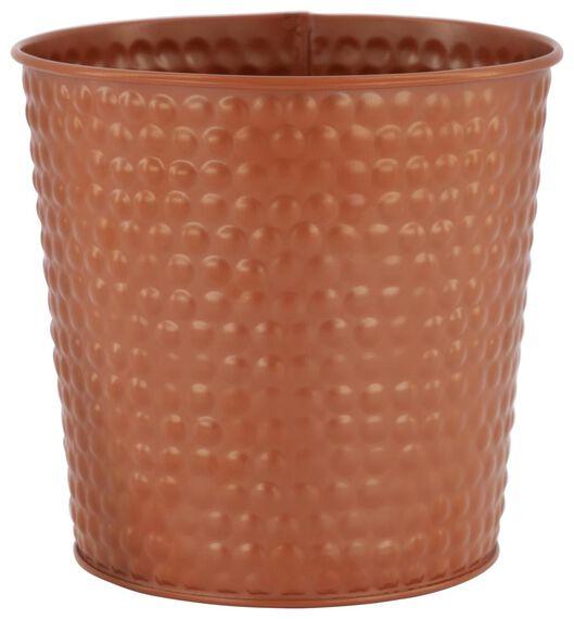 cache-pot Ø13x13 rouge brun - 41830340 - HEMA