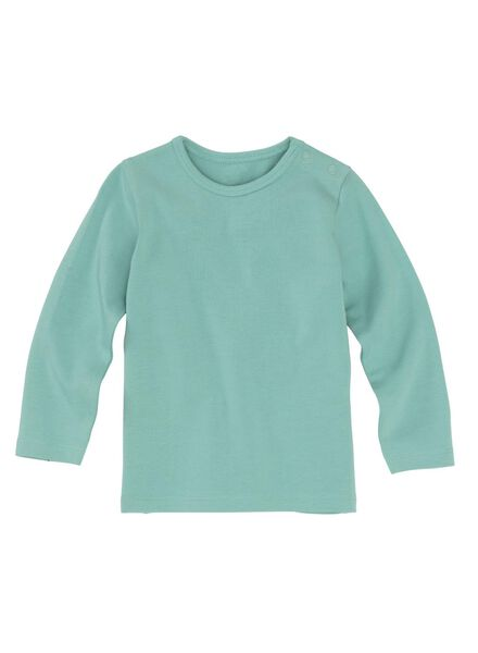 Baby-T-Shirt – Bambus mintgrün mintgrün - 1000012091 - HEMA