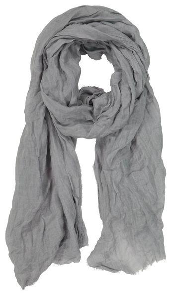 Damen-Schal mit Leinen, 200 x 80 cm - 1780046 - HEMA