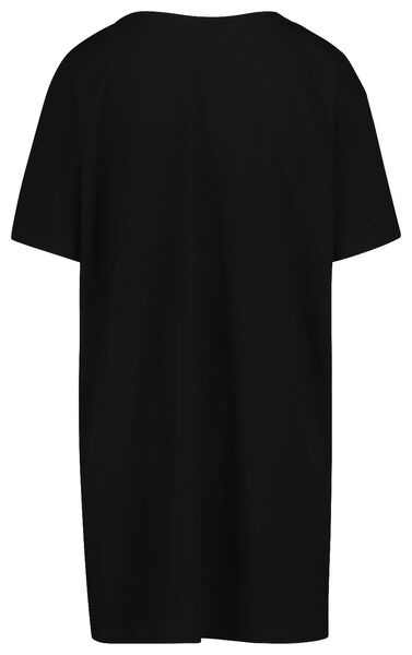women's nightshirt black black - 1000018762 - hema