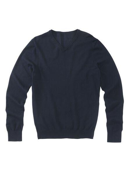 Herren-Pullover blau blau - 1000013239 - HEMA