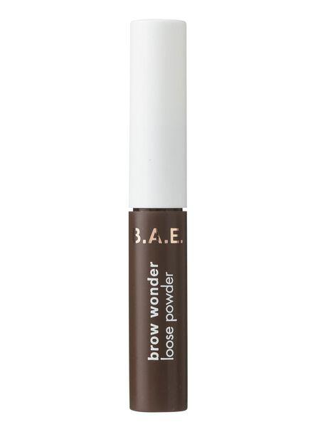 B.A.E. brow wonder loose powder dark - 17700082 - HEMA