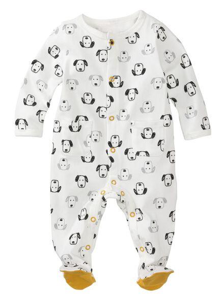 Baby-Jumpsuit eierschalenfarben eierschalenfarben - 1000012746 - HEMA