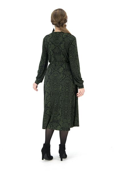 women's dress mid green mid green - 1000017182 - hema