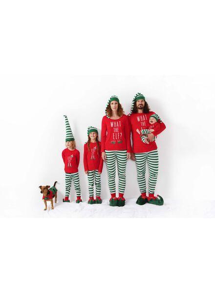 Baby-Pyjama Elfe rot rot - 1000010704 - HEMA