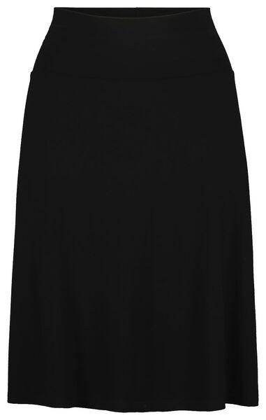 women's skirt black black - 1000019223 - hema