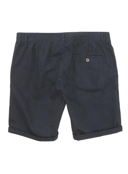 men's chino shorts dark blue dark blue - 1000006154 - hema