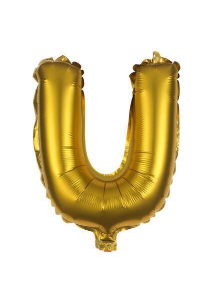 ballon alu U doré U - 14200259 - HEMA