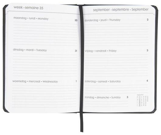 agenda 2021 - 21x15 - multilingue noir - 14622215 - HEMA