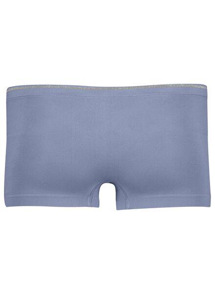 women's boxer shorts seamless micro blue blue - 1000013646 - hema