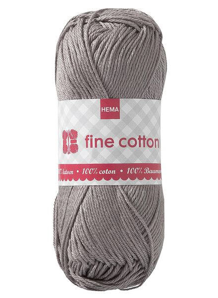 Strickgarn, Fine Cotton - 1400014 - HEMA