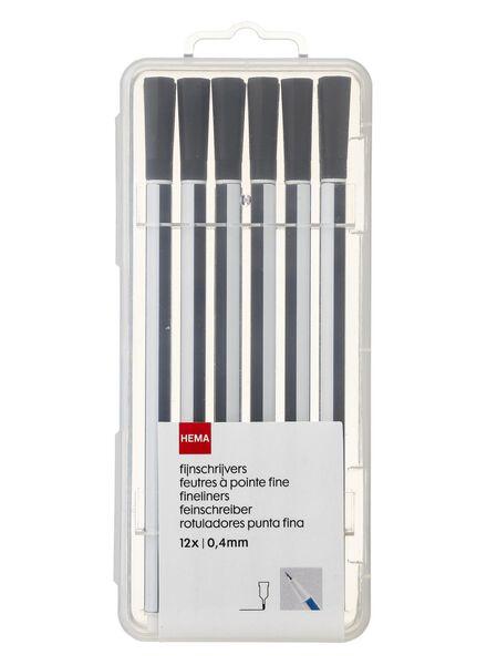 12er-Pack Feinschreiber - 14420030 - HEMA