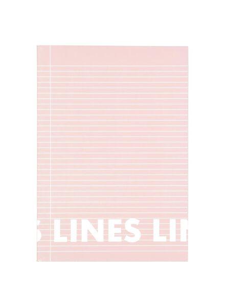 3 cahiers A4-lignés - 14101615 - HEMA