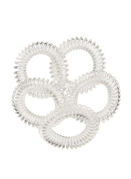 lot de 5 élastiques spirales - 11870032 - HEMA