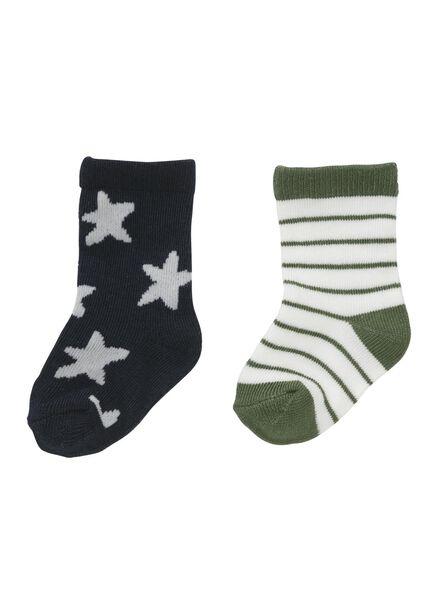 HEMA 2er Pack Kinder Socken Schwarz