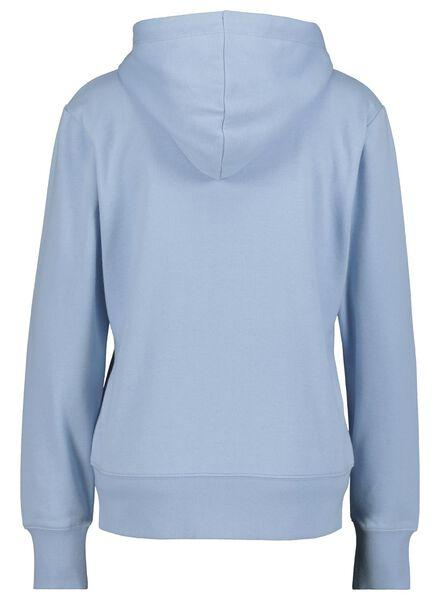 gilet sweat femme bleu bleu - 1000014819 - HEMA