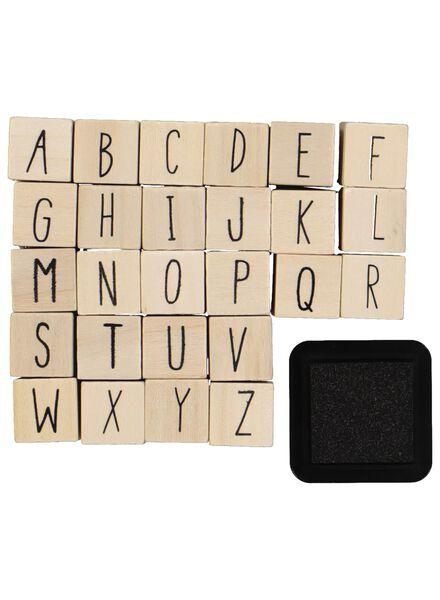 Buchstabenstempel - 14835713 - HEMA