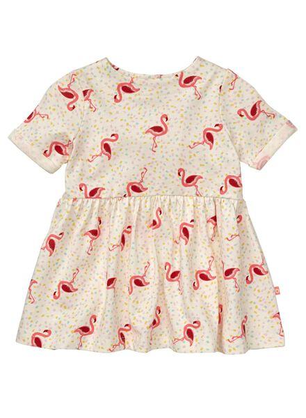 HEMA Baby Kleid Eierschalenfarben